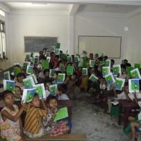 10ª Donación curso 2011-2012, Colegio Shwe Zedi Monastic Education School.