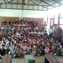Terminación e Inauguración Escuela Man Pyay