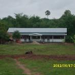 Construcción escuela Man Pyay a 30 de Junio de 2012