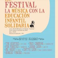 """1er"""". Festival """"La Música con la Educación Infantil Solidaria"""""""