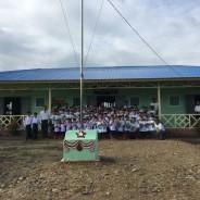 Inauguración oficial nueva escuela en Chunsu Pwint Phyu, 23-06-2017