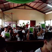 """(Español) Primera Donación """"Escuela Sor María Romero"""" de El Tuma, Matagalpa, Nicaragua"""